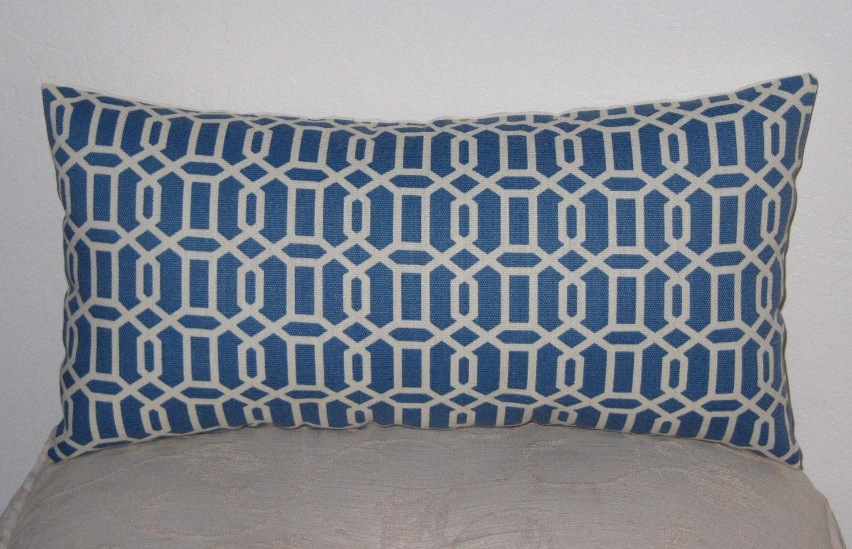 Indoor/Outdoor Decorative Pillow-Lumbar Pillow Felton River