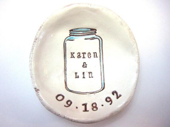 Mason Jar Wedding Dish