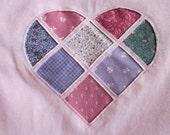 Pink Heart tshirt  XL To benefit Heartline Ministries, Port Au Prince, Haiti