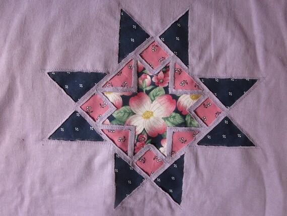 Ohio Star - Dogwood T-shirt (Lavender) -  Large