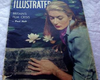 vintage ILLUSTRATED British magazine\/periodical-- week ending November 19, 1949