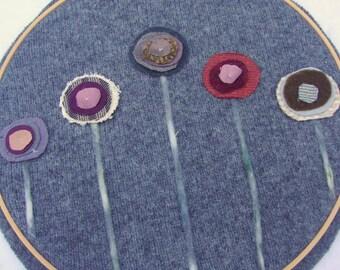 STORM CLOUD textile wall art