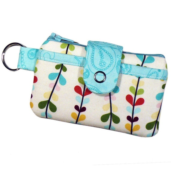Tiny Fronds - The PORTA-Pouch (with Keyring)