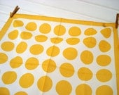 Bright polka dot cotton scarf
