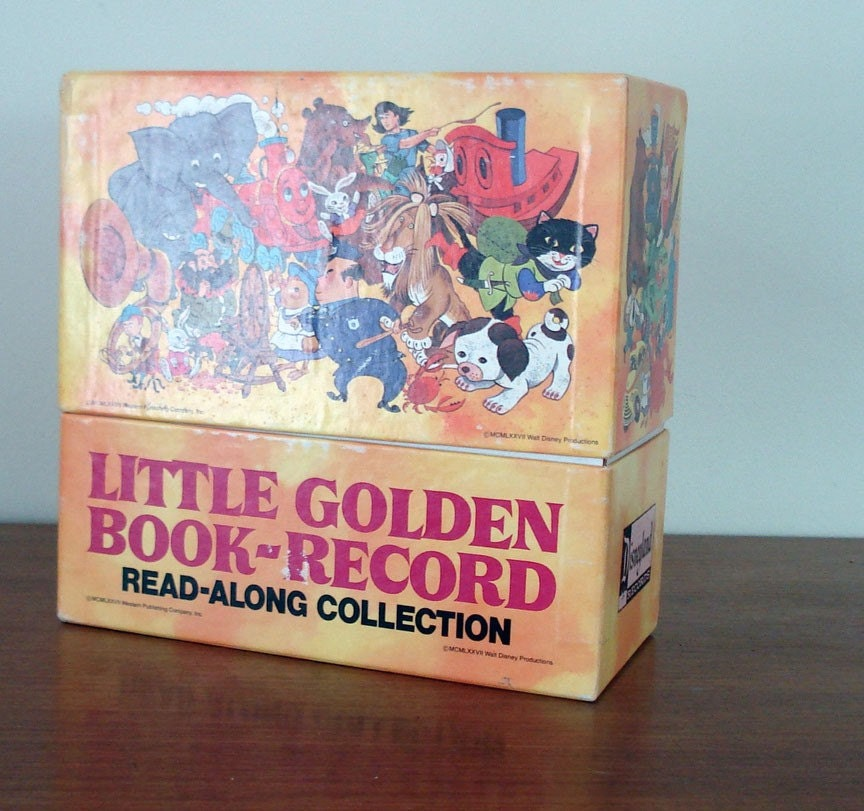 Little Golden Books Record Collection From 1977 By