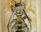 Bee Snap Changepurse