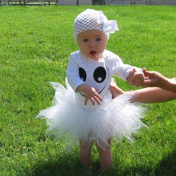 Absolutely Adorable Ghost Halloween Costume