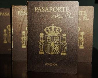 Wedding Passport Invitation
