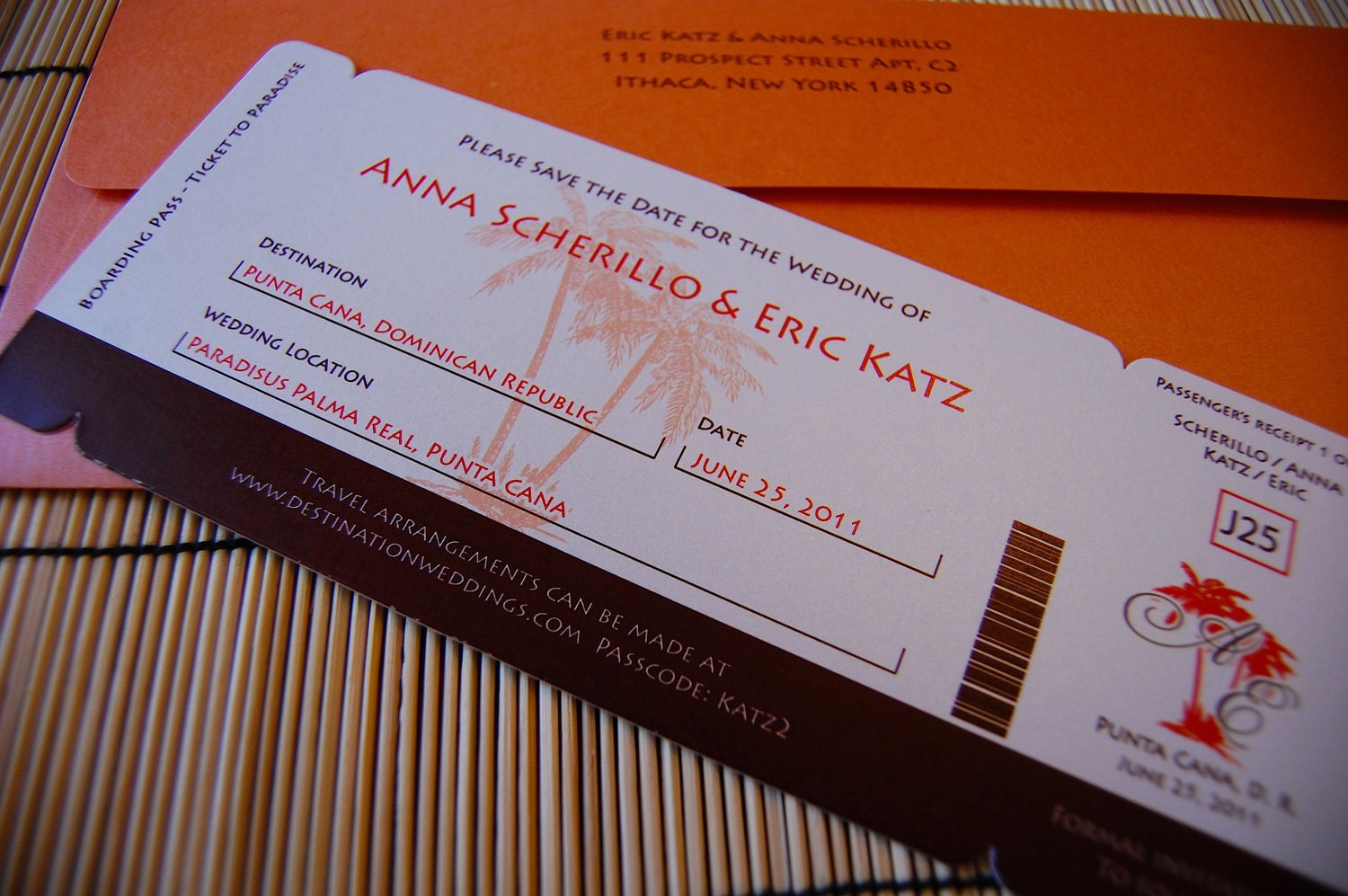No Comments:  Airplane Ticket Invitations