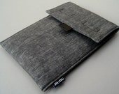 """iPad mini Case, made to order for 7-8""""  Tablet/Ereader/Kindle. Padded/Cotton/Sleeve."""