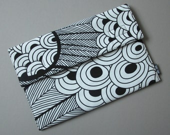 Laptop Case, for 11inch MacBook Air and other UltraBooks. Padded/Cotton/Peacock.