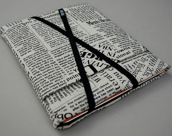 "iPad Air Case /iPad Sleeve /Kindle Cover /Other 9-10"" Tablets Bag. Linen/Padded."