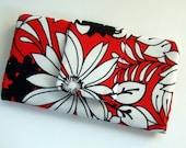 Weekender Wallet - red & black