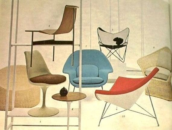 Mid Century Modern Interior Design and Decorating Books Eames Dansk Nelson Knoll Panton  COMPLETE 18 Volume Set LAST ONE