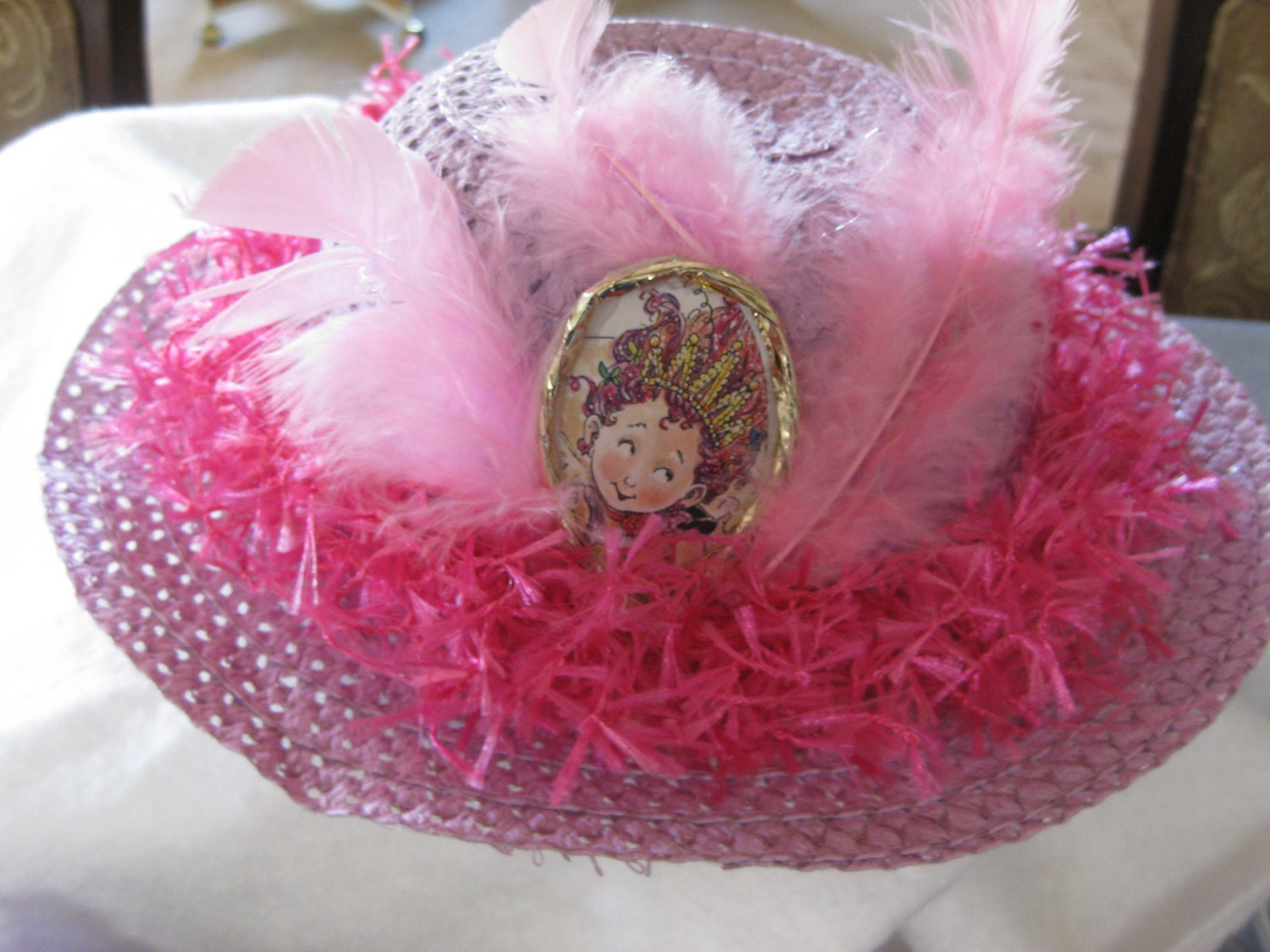 Fancy Nancy Tea Party Skirt And Hat With Boa Ribbons