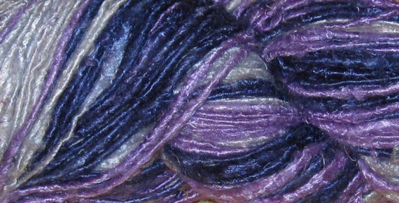130 yards Handspun Recycled Banana Fiber Yarn, Fair Trade, 195 grams, 6.9 oz