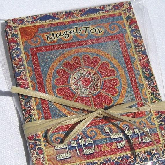 Mazel Tov Greeting Cards, Jewish Cards, Star Of David, Jewish wedding, bar mitzvah cards, bat mitzvah cards