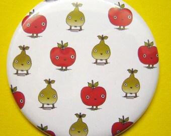 Apples & Pears Pocket Mirror