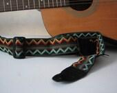 Ziggy Vintage Trim Guitar Strap