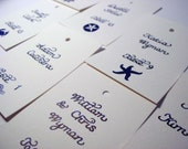 Wedding Calligraphy for Place Cards