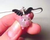 When Pigs Fly Necklace