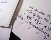 Calligraphy for Wedding Evelopes