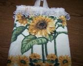 Sunflower Plastic Bag Holder - Fabulous Gift - Good for a Laugh too