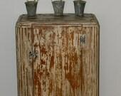 Vintage Art Deco Wood Cabinet