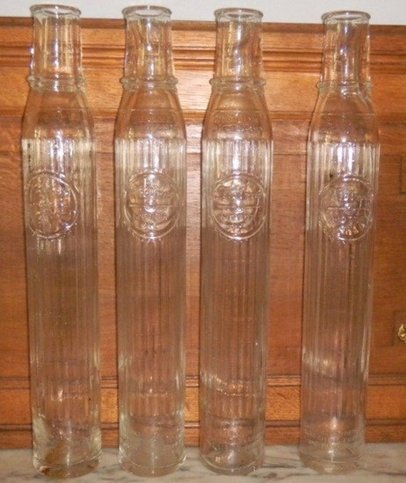 Vintage Motor Oil Bottles Tiolene