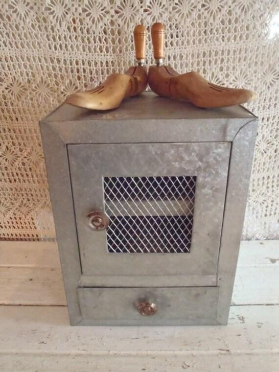 Vintage Industrial Bathroom Cabinet
