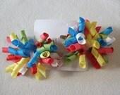Pinwheels Snap clip Korker Bows