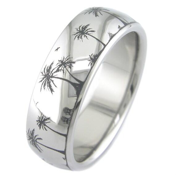 Paradise Titanium Ring