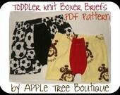 Toddler Knit Boxer Brief Pattern ebook PDF