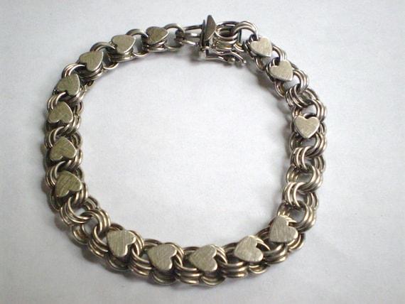 Sale vintage jb jacoby bender sterling silver by literiecrane for Florentine bracelet tattoo
