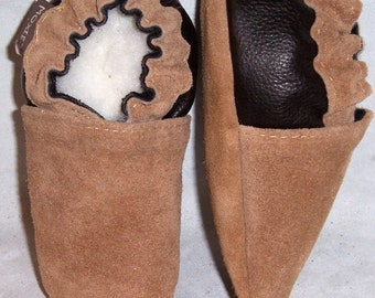 soft soled leather baby crib shoes 18-24 mos or you choose size