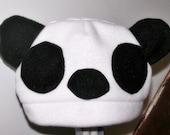 PAnda Fleece Animal Hat