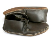 Size 12 - Men's Boot Style, Heavy Chrome Pac Double Sole Moccasins