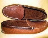 Womens Single Sole Slipper Moccasin Style Size 7.