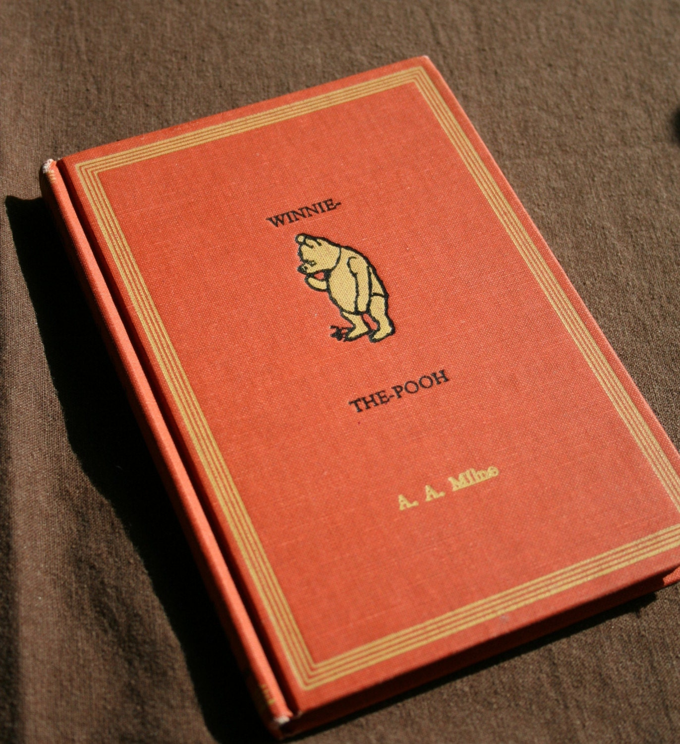 Classic Book Cover T Shirts ~ Items similar to vintage winnie the pooh book on etsy