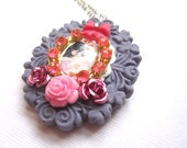 Kawaii Cameo Necklace
