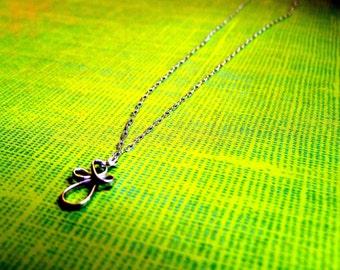 Swirly Cross Necklace