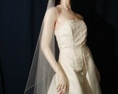 Wedding Veils bridal veils  Petal cut  Waltz length veil