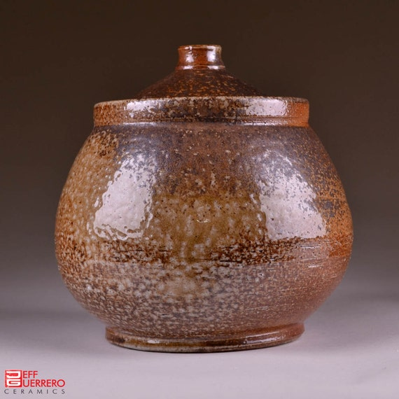 Wood-Fired Lidded Jar