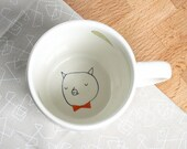 Mug - Pig with bow tie