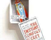Instant Comfort Pocket Box - rocket