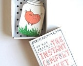 Piglet - Instant Comfort Pocket Box - you can do anything! - feel good gift - cheer gift
