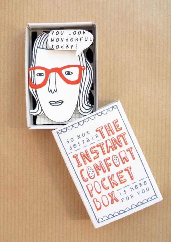 The Instant Comfort Pocket Box - Red glasses