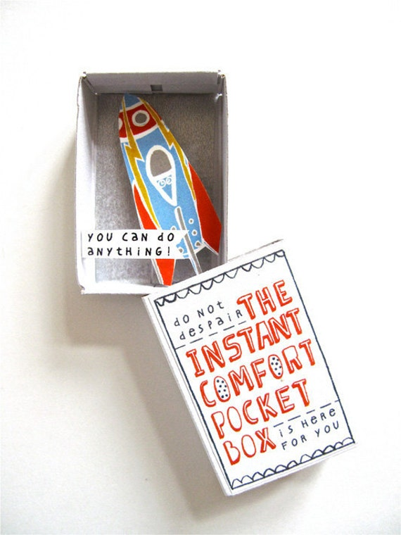 Instant Comfort Pocket Box - rocket