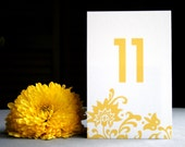 Table Number -- The Rebecca -- DIY Wedding Invitations