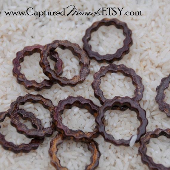 5 Copper Steampunk Junk Gear Components 27mm